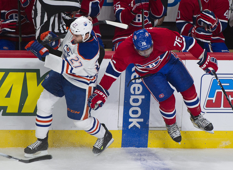 Petry, Jones score in 3rd as Oilers beat Canadiens