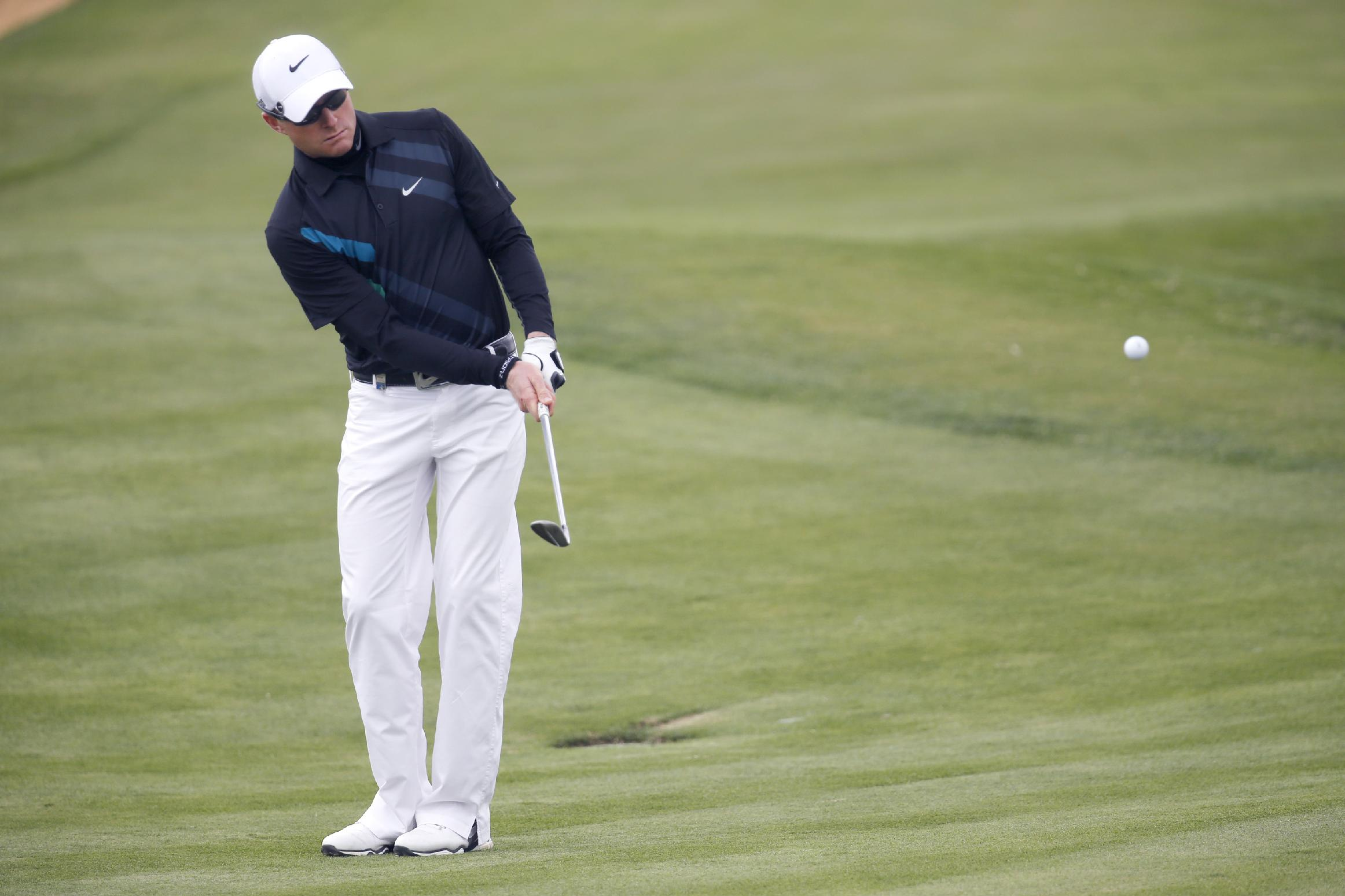 Dyson disqualified for touching line of putt