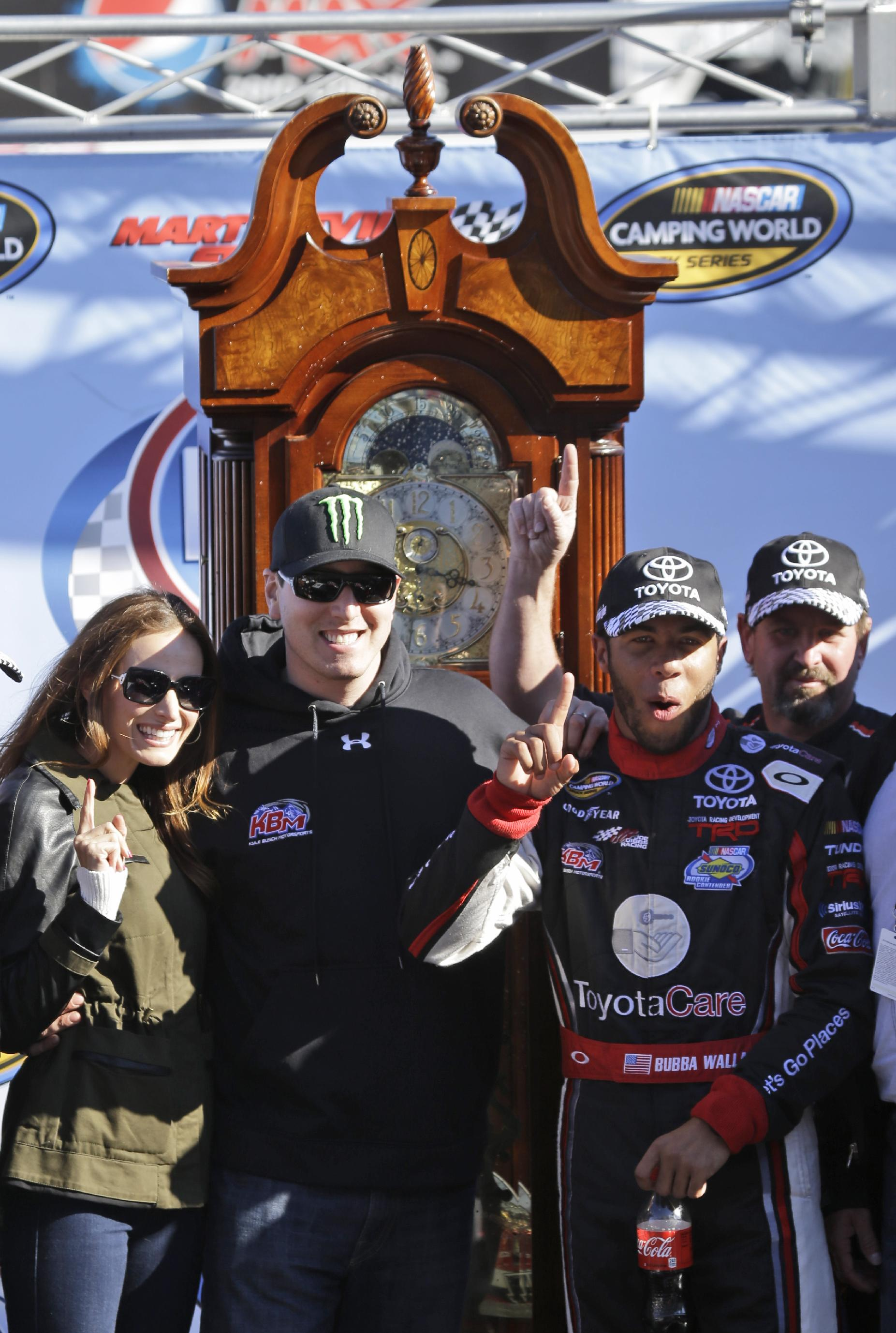 Darrell Wallace Jr. sets NASCAR milestone