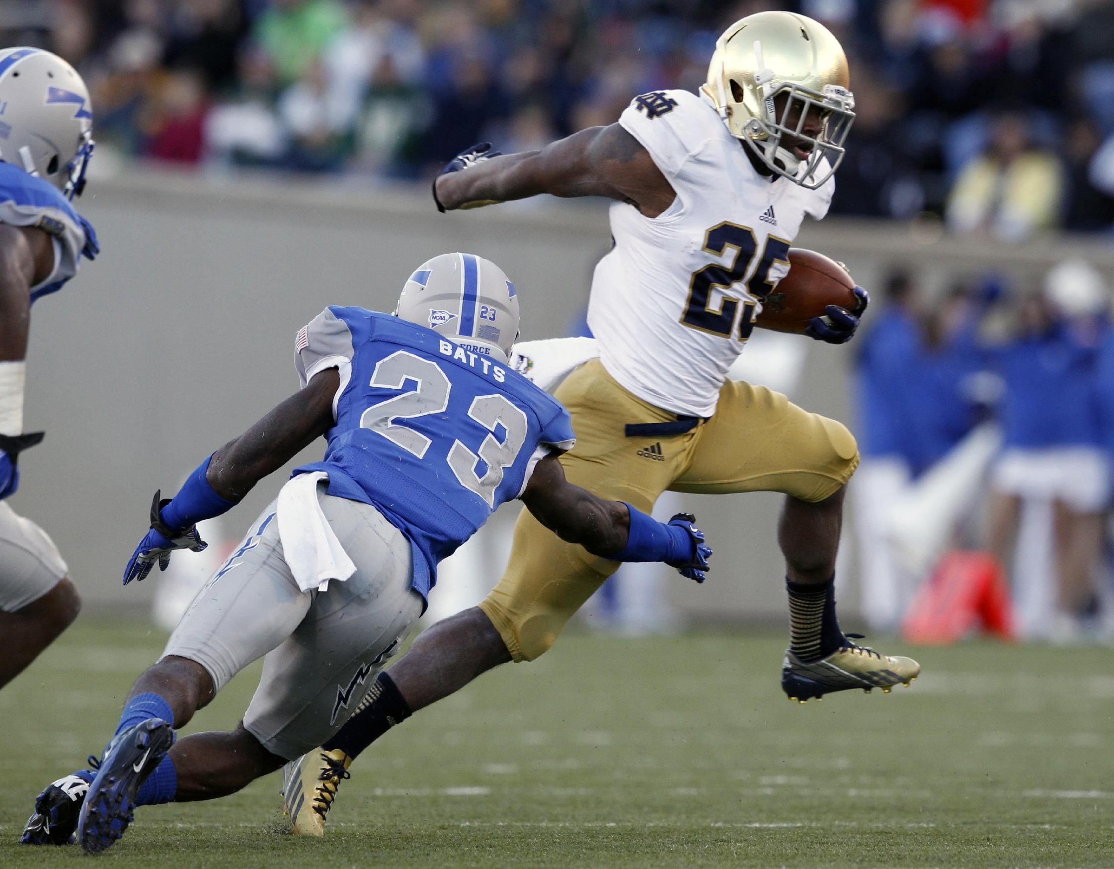 Freshmen making impact for Notre Dame