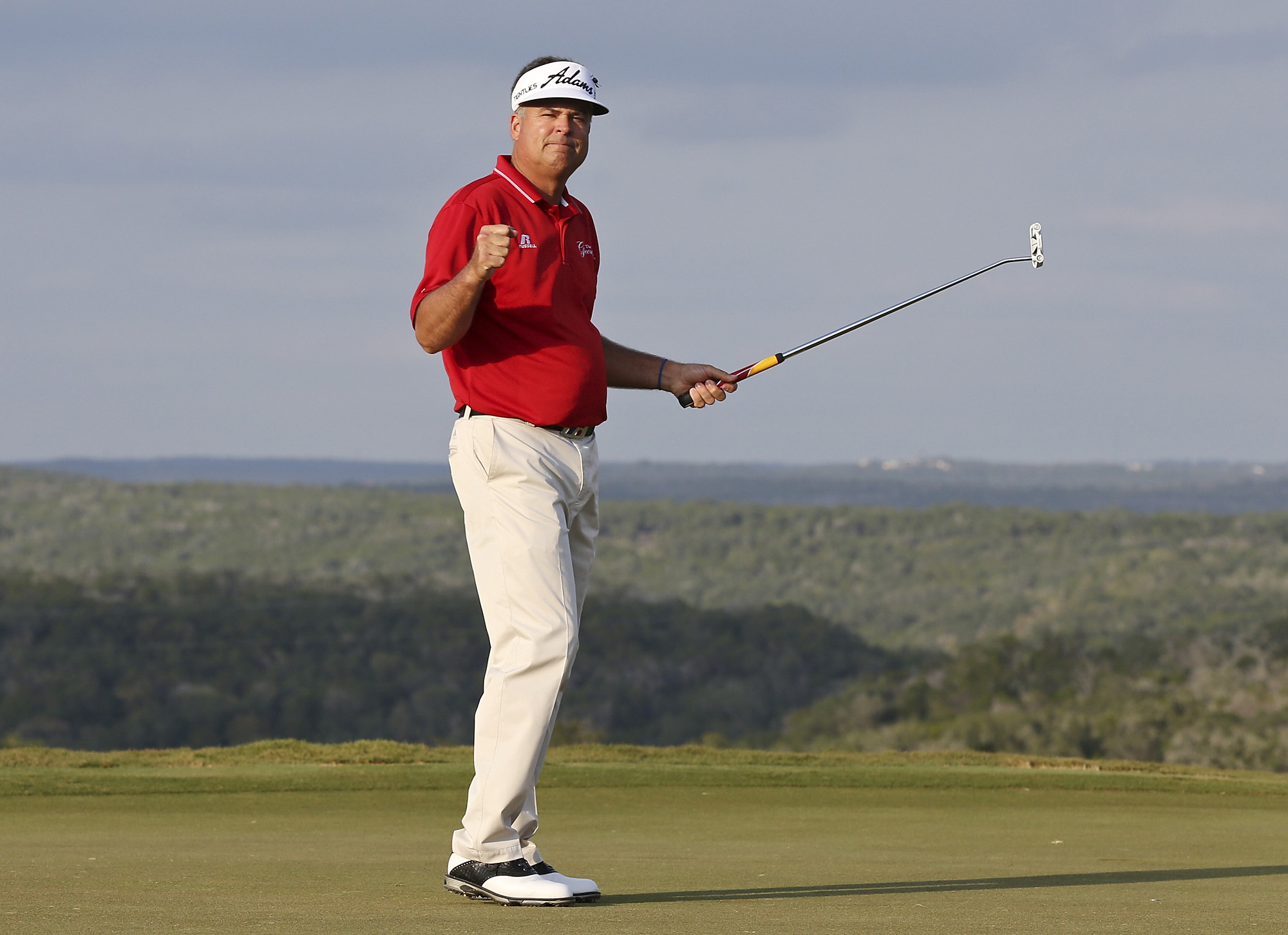 Langer needs win and help to take top prize