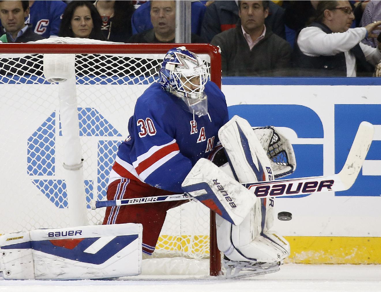 Montreal's Budaj, Plekanec spoil Rangers' opener