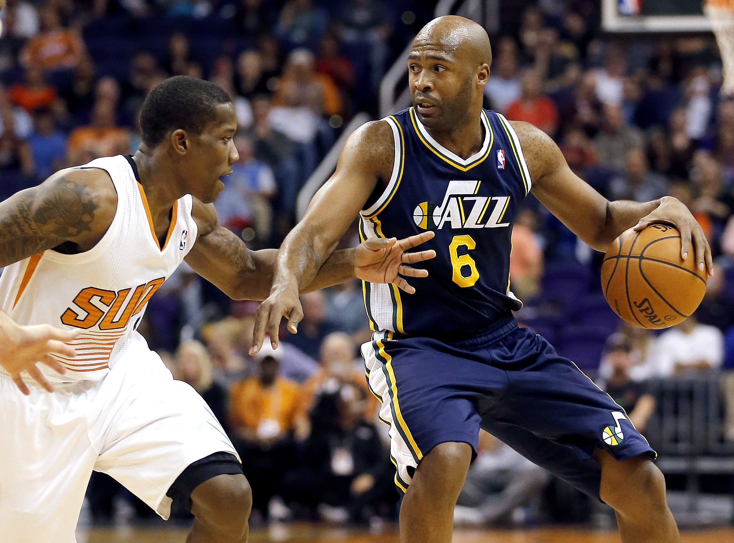 Bledsoe's 3-pointer gives Suns 87-84 win over Jazz