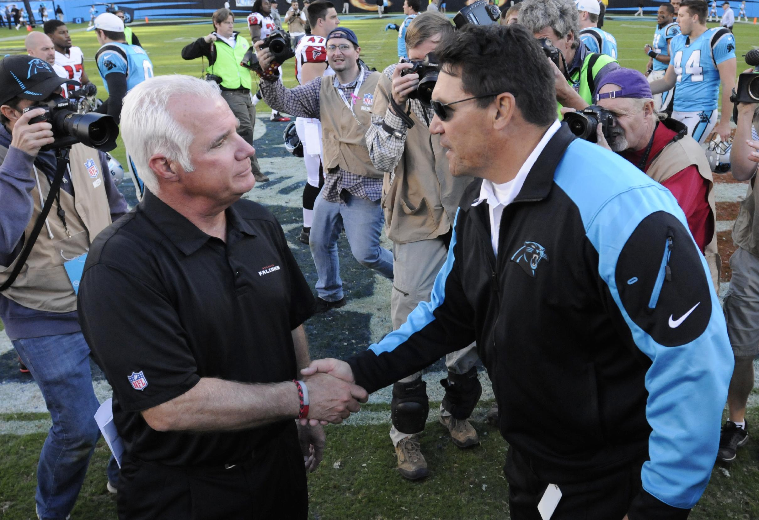 Rivera confident Panthers can be a playoff team