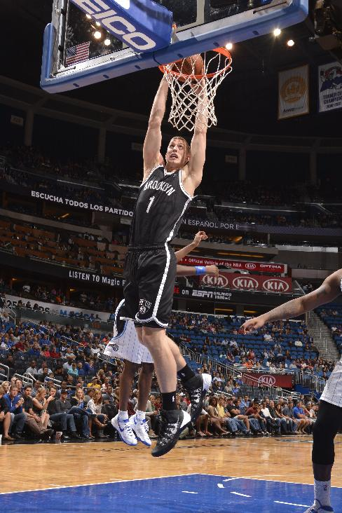 Magic rout Nets 107-86