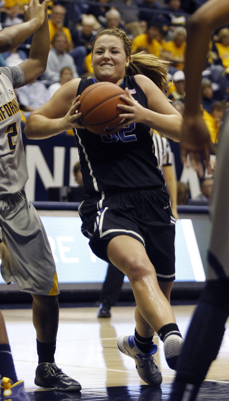 Gray leads No. 2 Duke women past No. 9 Cal, 70-58