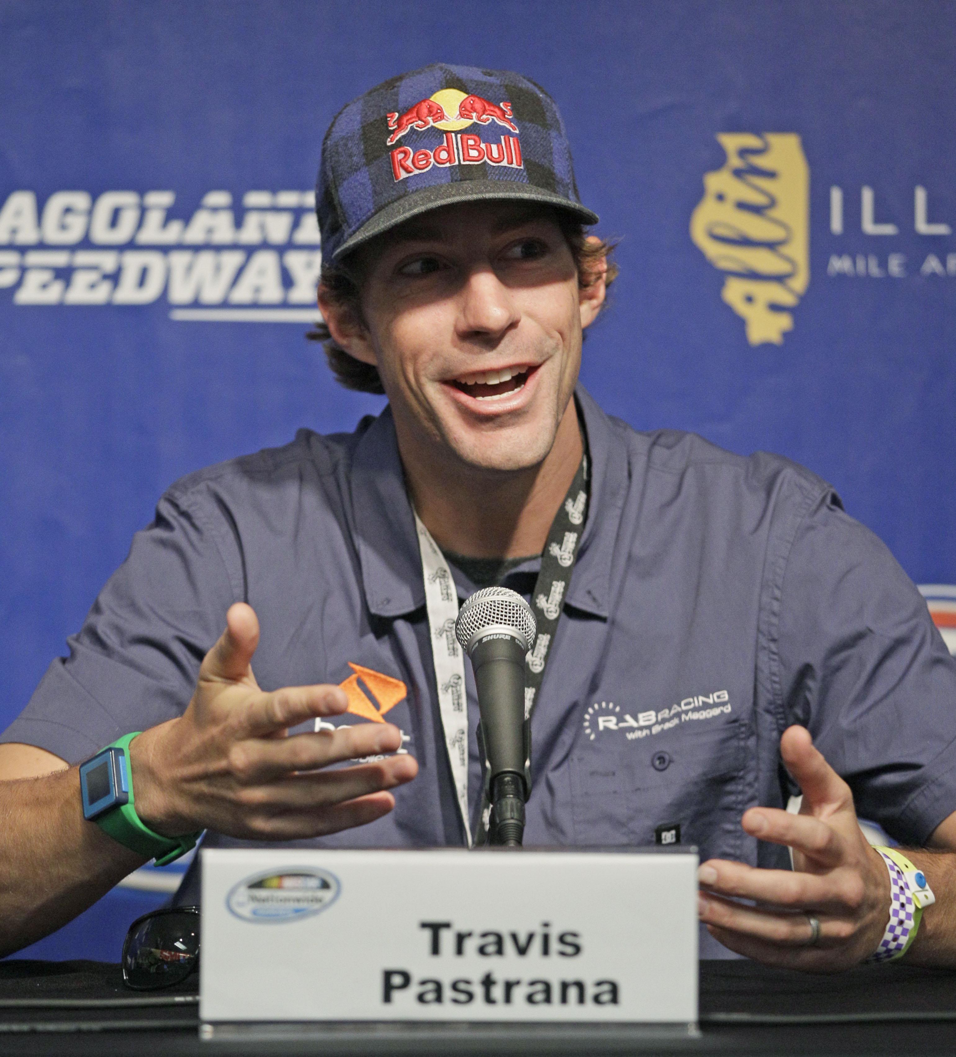 Travis Pastrana leaving NASCAR after season finale