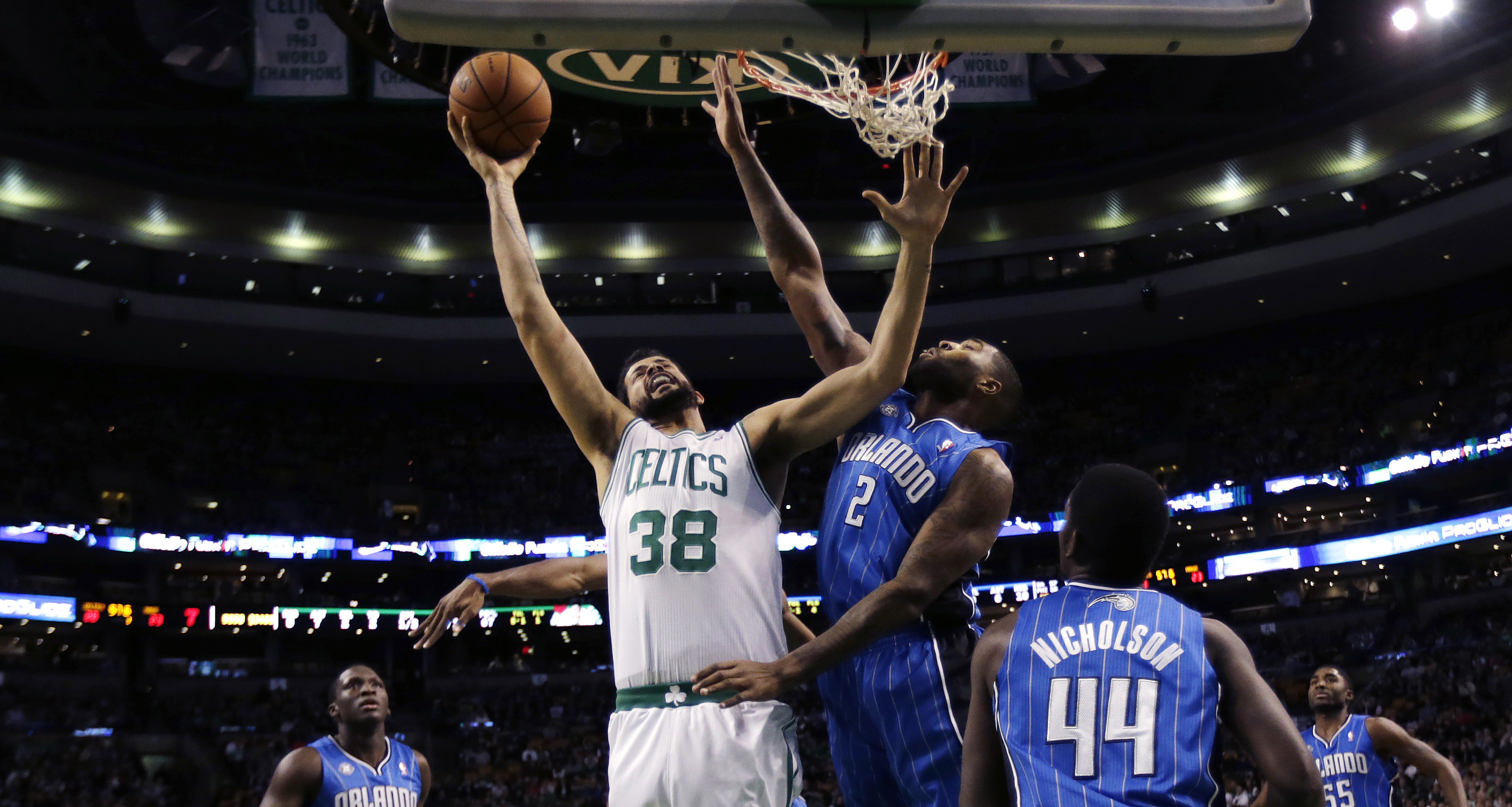 Bradley leads Celtics' 120-105 win over Magic