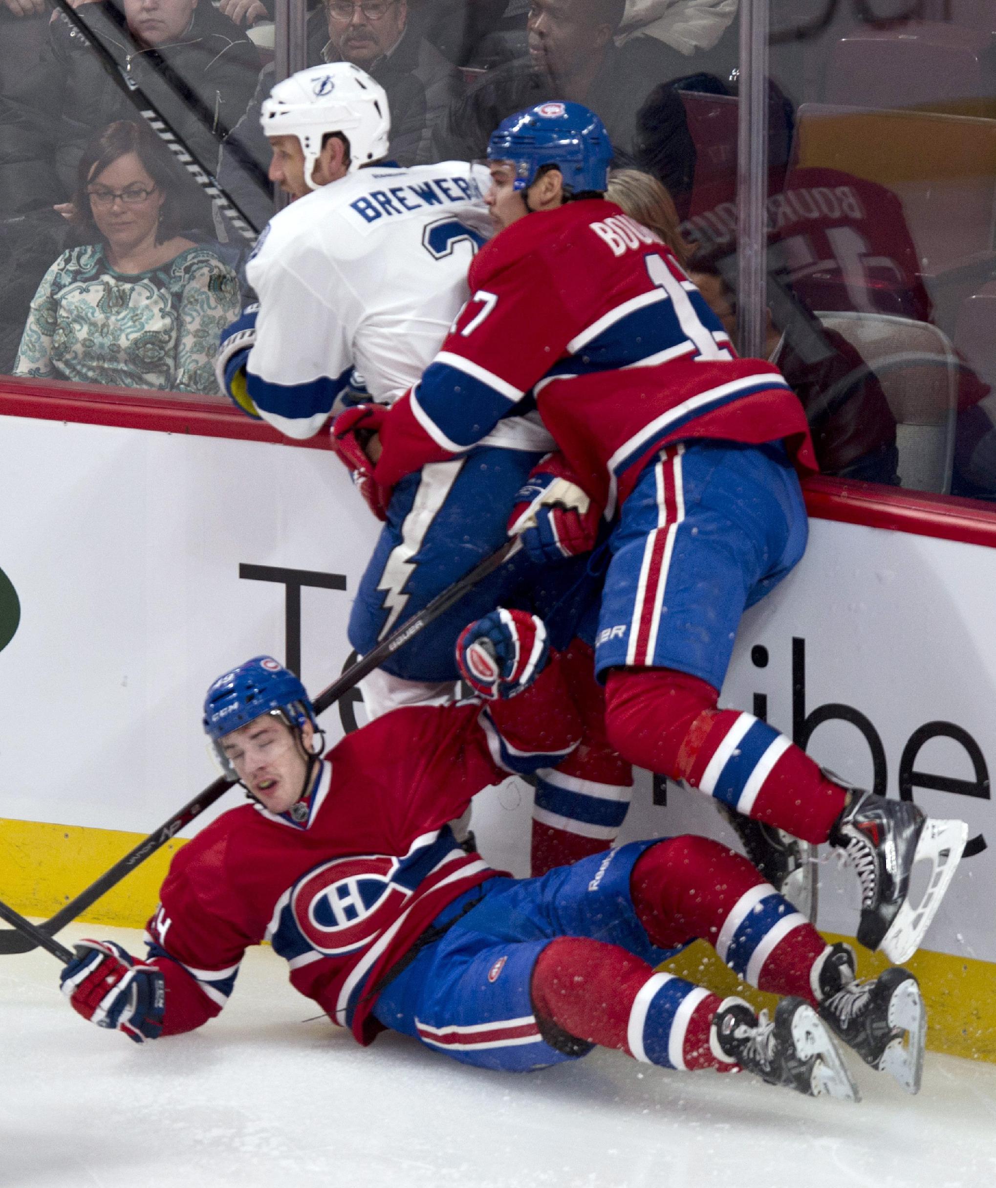 Lightning slip past Canadiens 2-1 in shootout