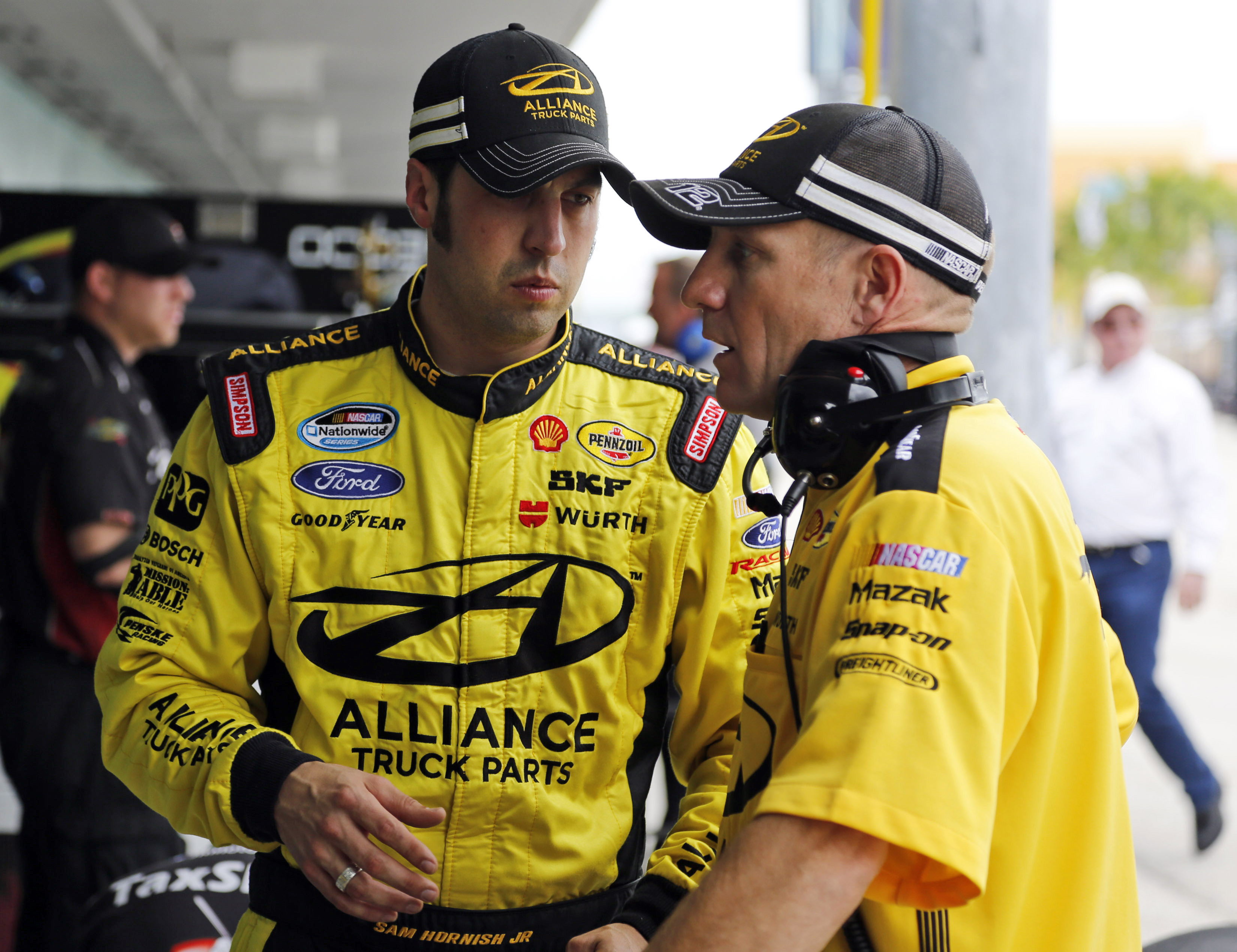Penske, Hornish part ways after decade together