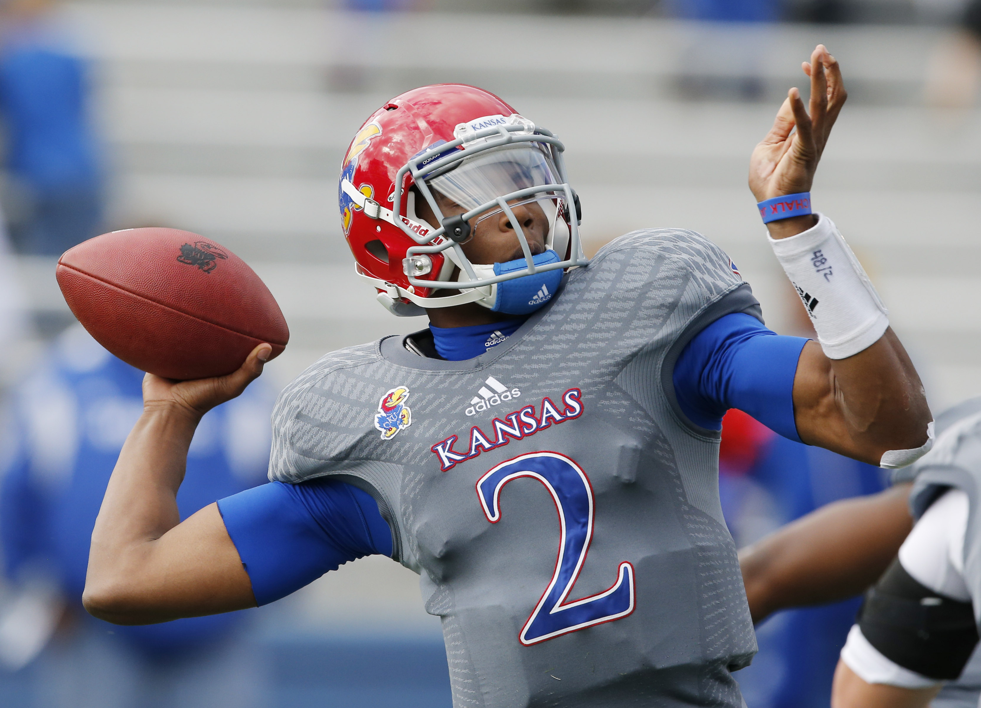 Blocking? Yep, Kansas wide receivers becoming pros