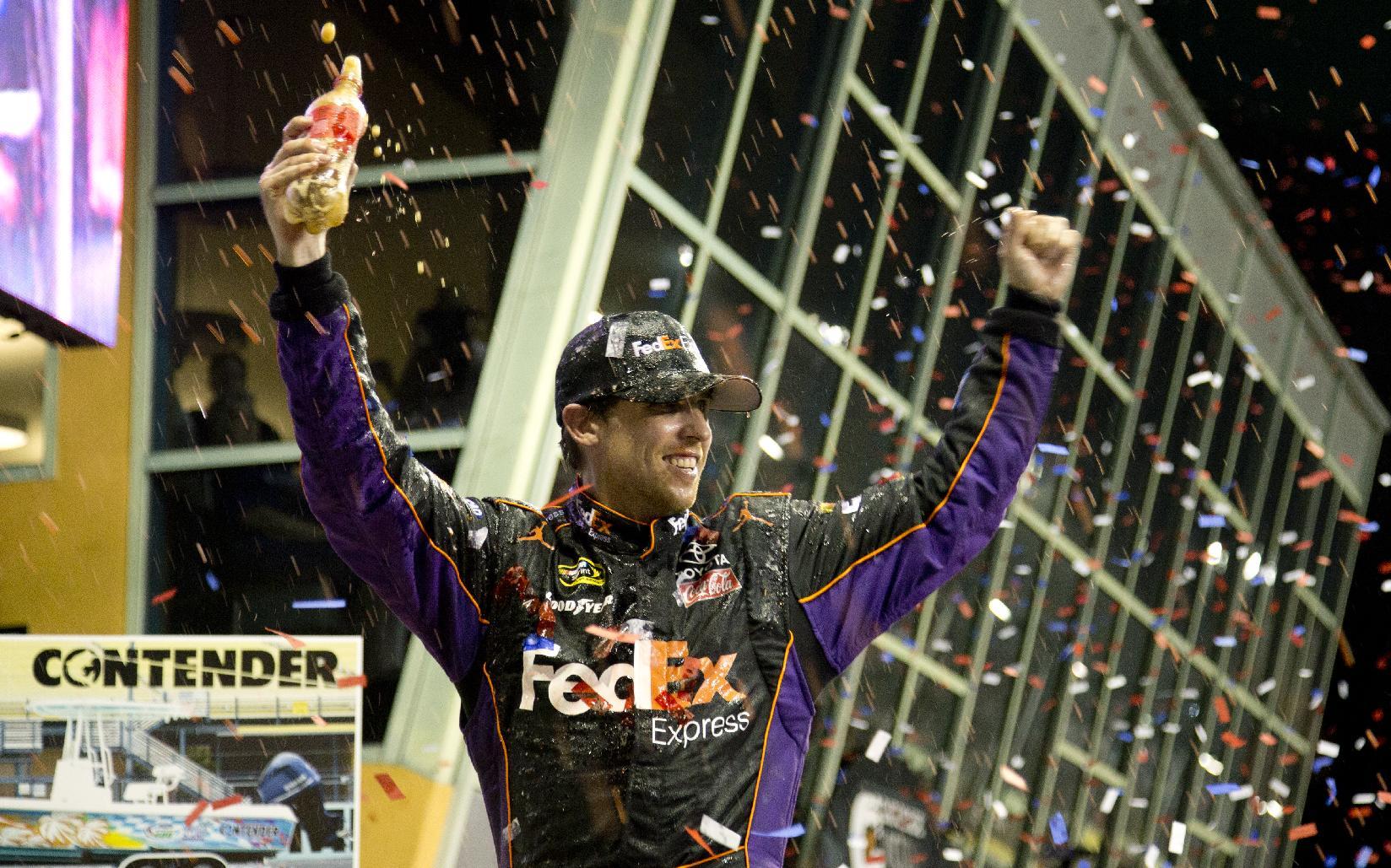 Jimmie Johnson wins 6th NASCAR championship