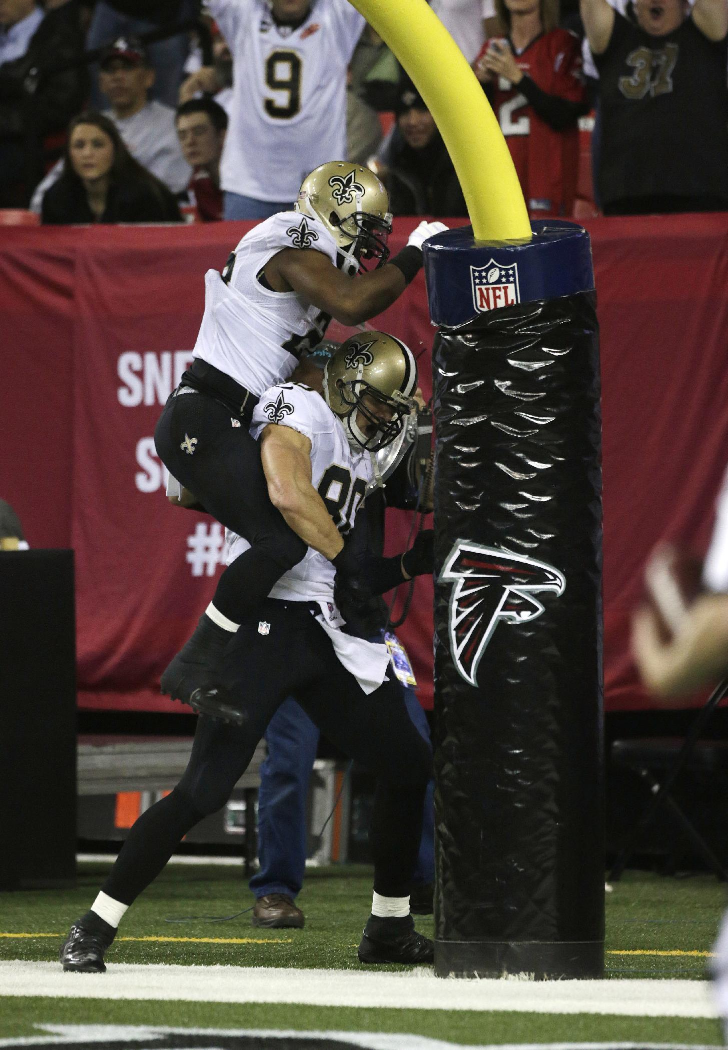 Defense leads Saints past Falcons, 17-13