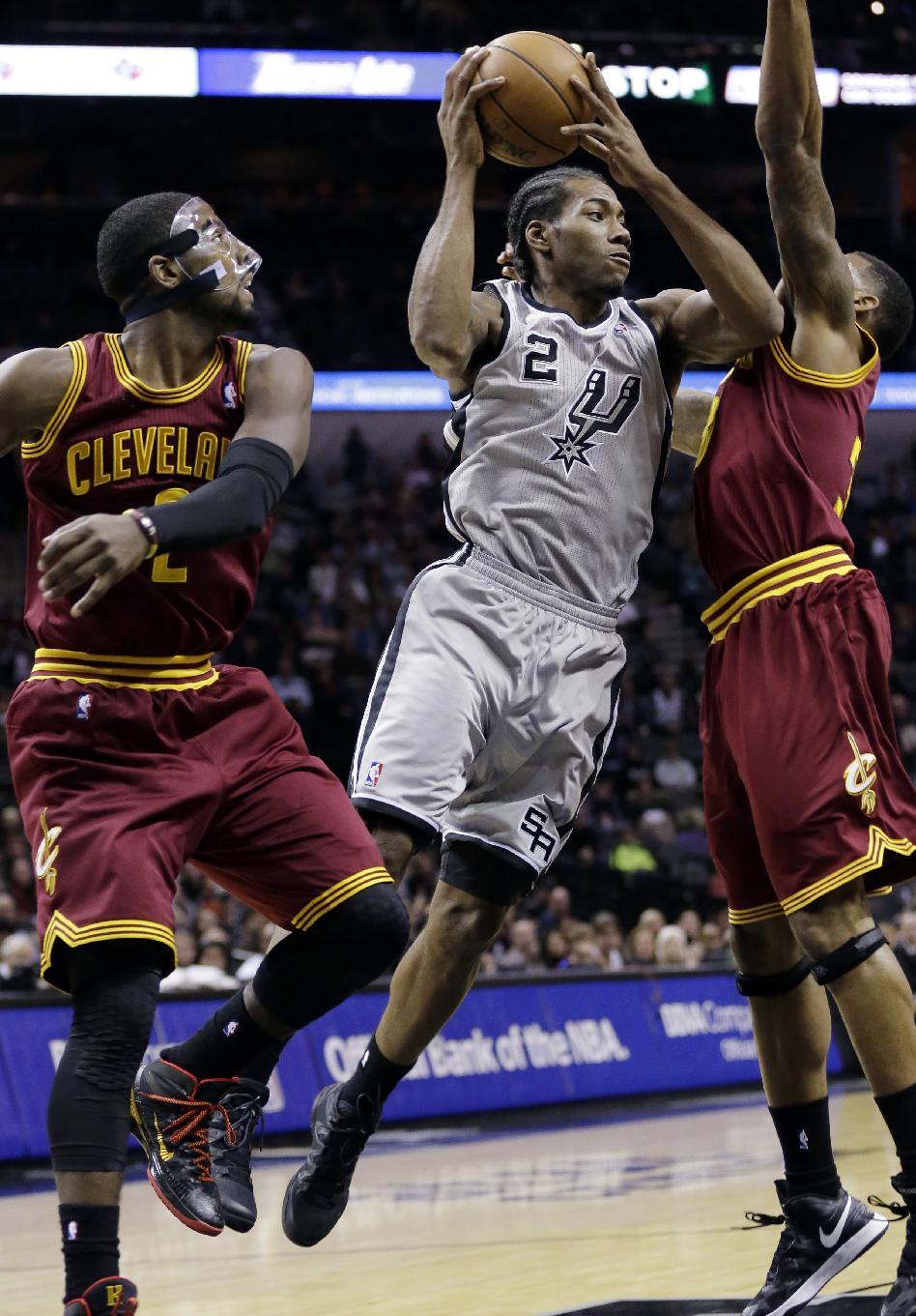 Spurs crush Cavaliers 126-96