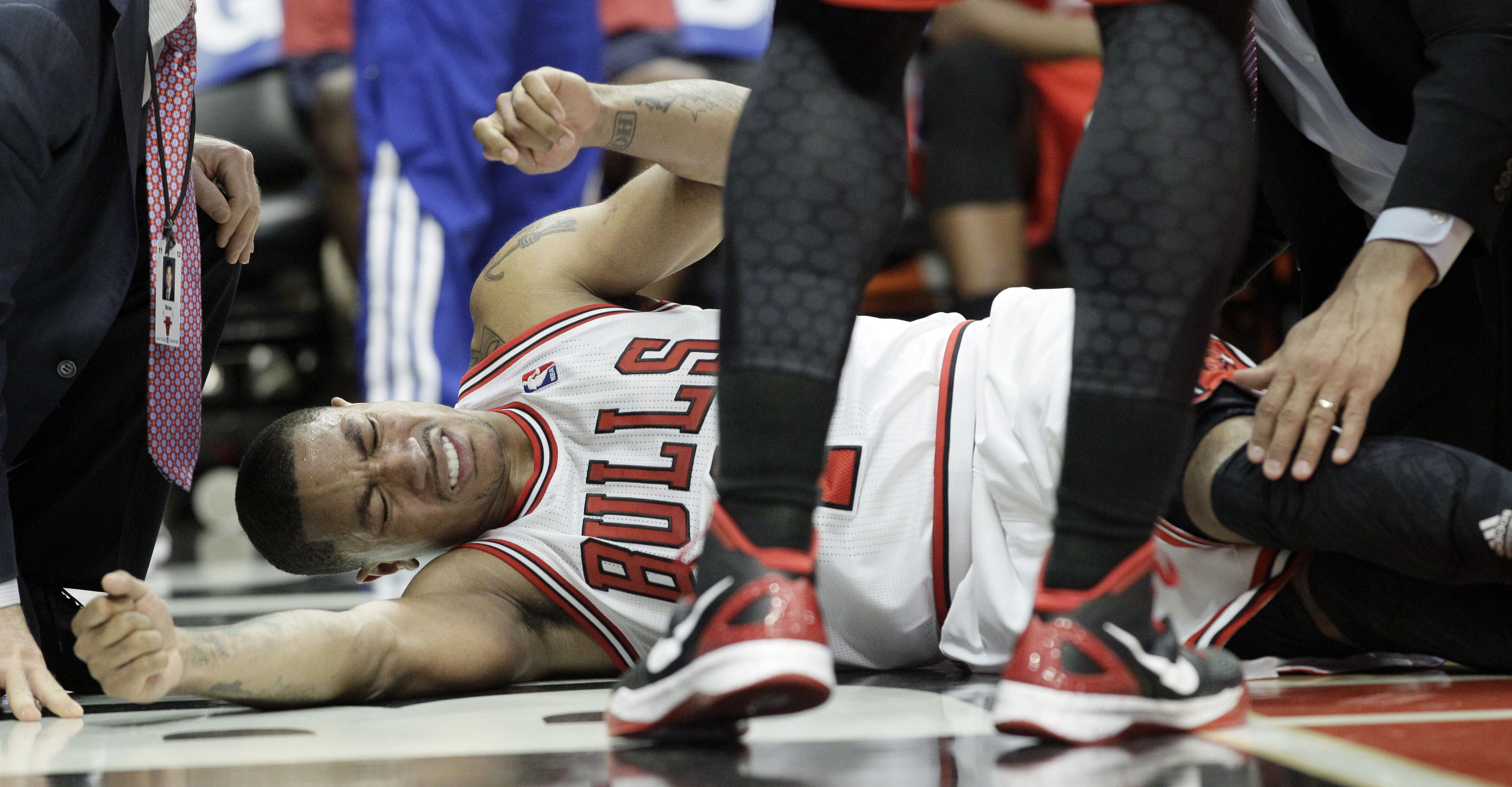 Latest injury to Rose could be blow to Adidas, too