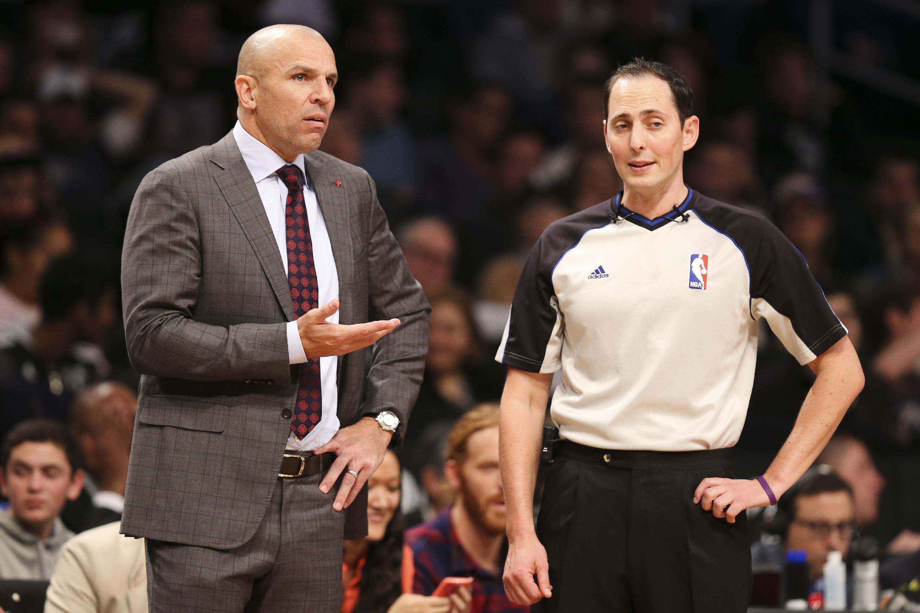 NBA fines Kidd $50,000 for spilling drink on court