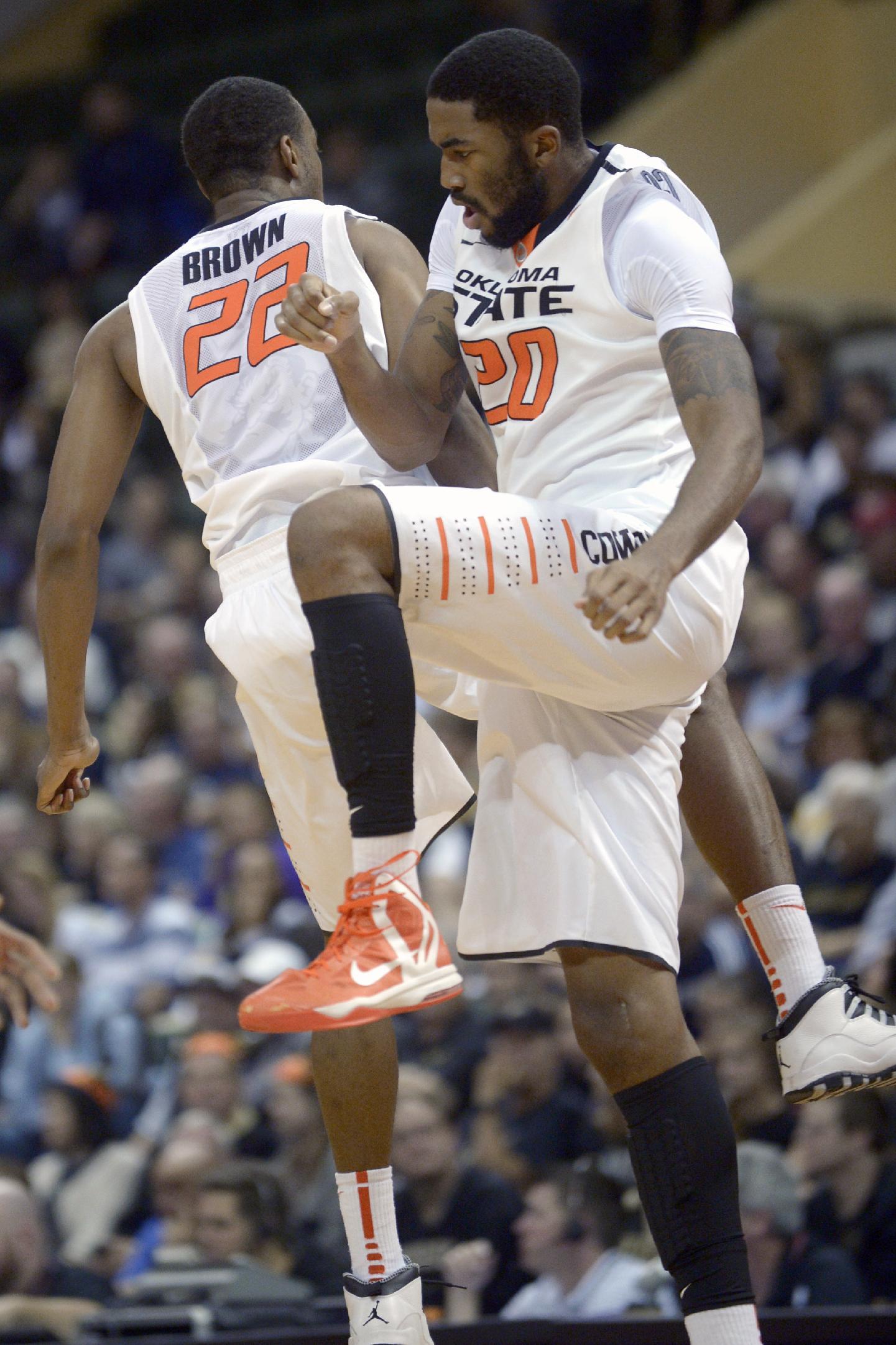 Smart scores 30, No. 5 Oklahoma State beats Purdue