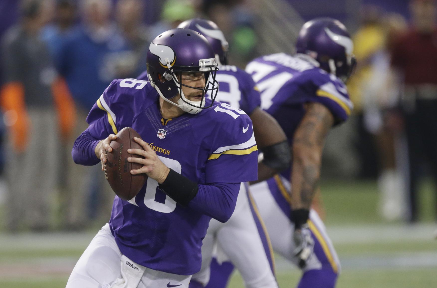 Vikings QB Cassel on track to start for Ponder