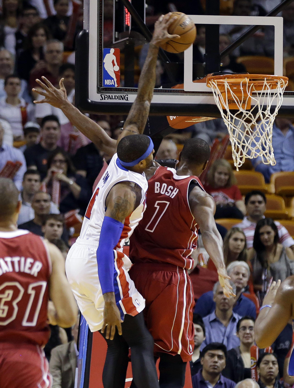 Pistons snap Miami's 10-game win streak, 107-97