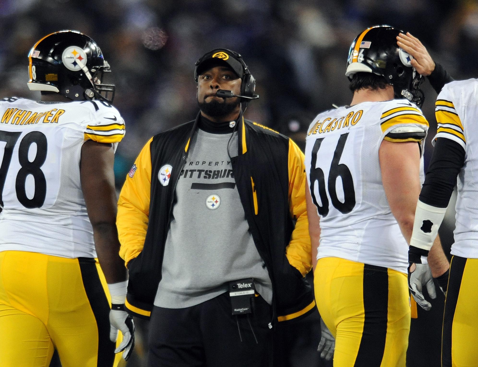 NFL fines Steelers coach Mike Tomlin $100,000