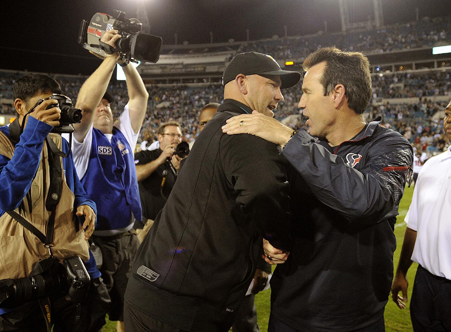Texans fire coach Gary Kubiak