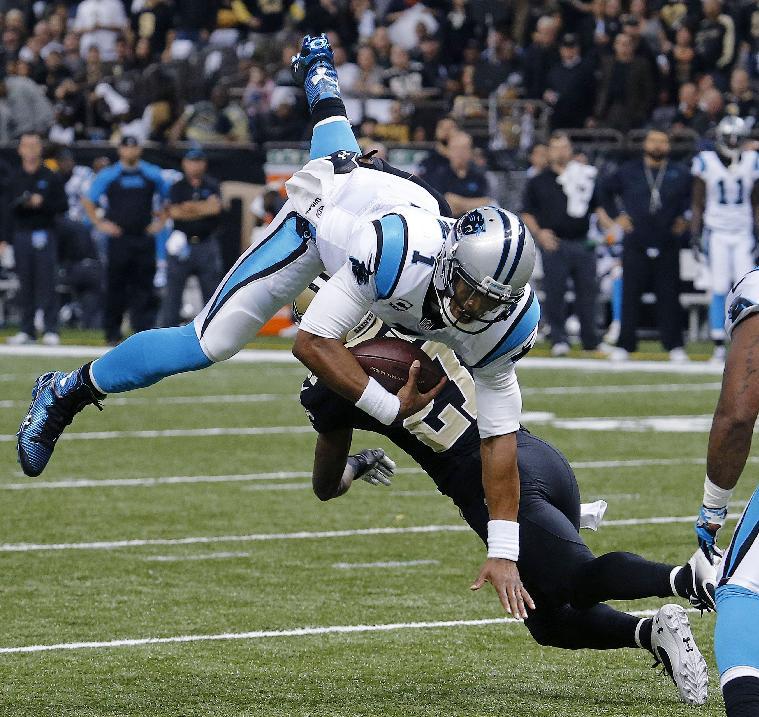 Brees sharp, Saints beat Panthers 31-13