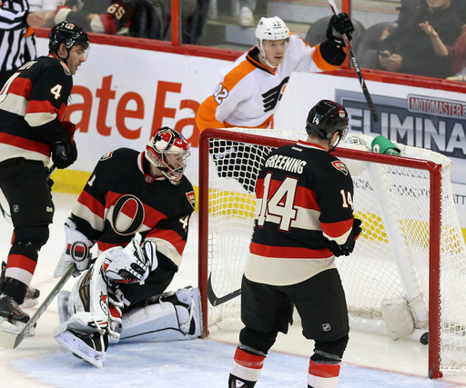 Senators' Spezza scores SO winner vs. Flyers