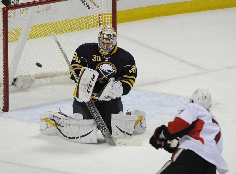 Sabres edge Senators in shootout 2-1