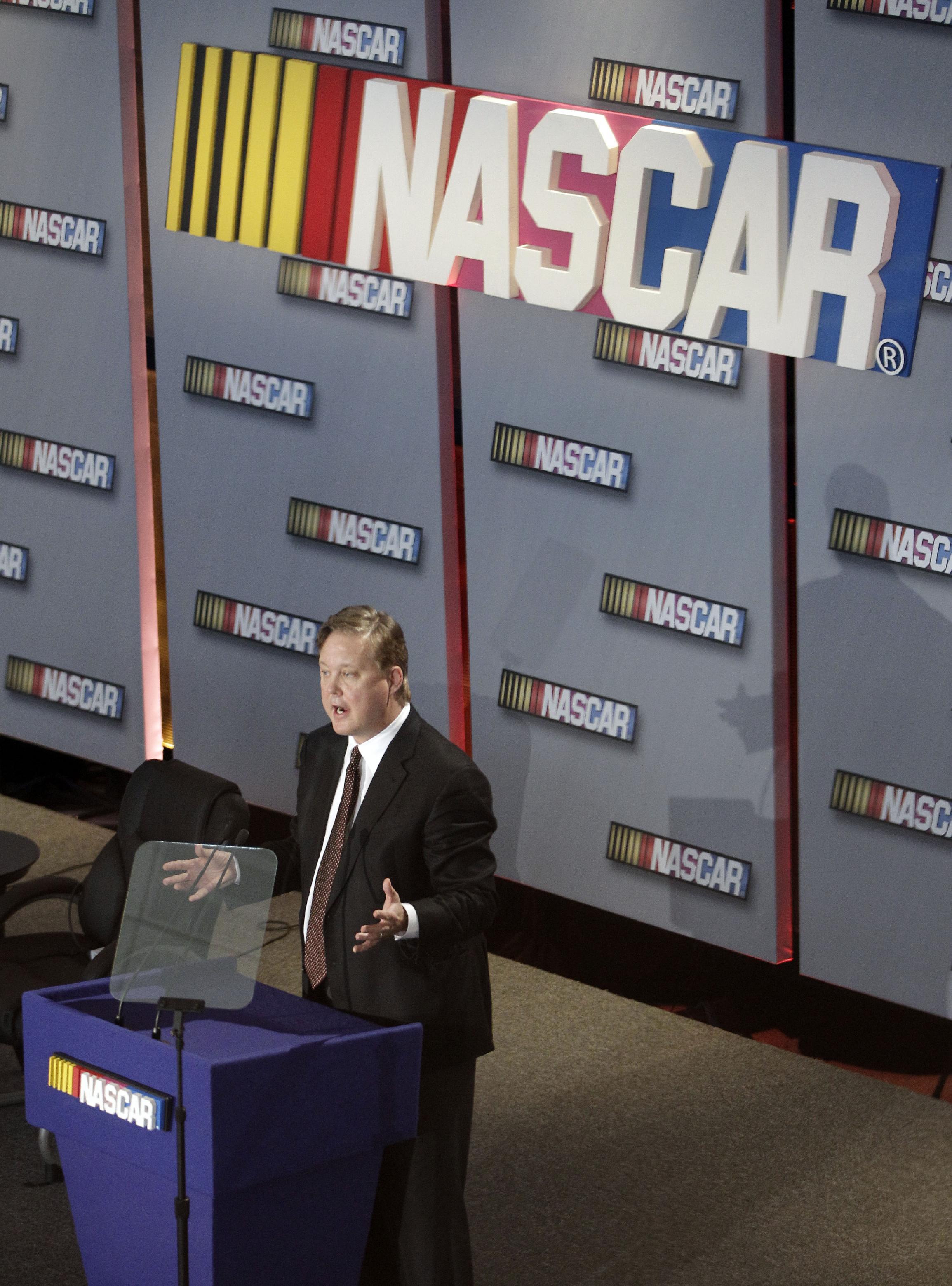 NASCAR names Brent Dewar chief operating officer