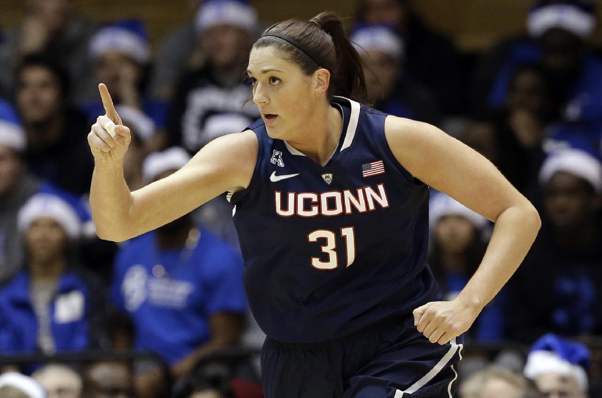 No. 1 UConn women rout No. 2 Duke, 83-61