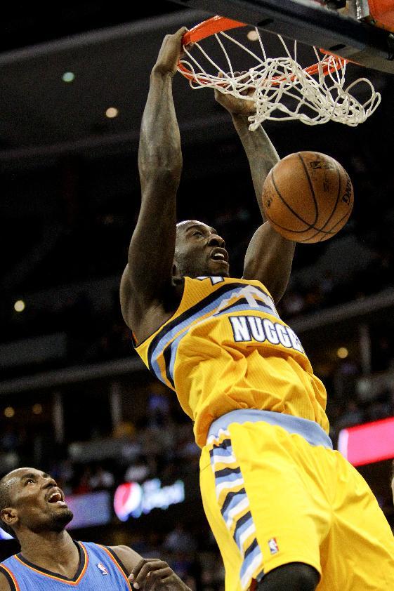 Durant, Oklahoma City beat Denver 105-93