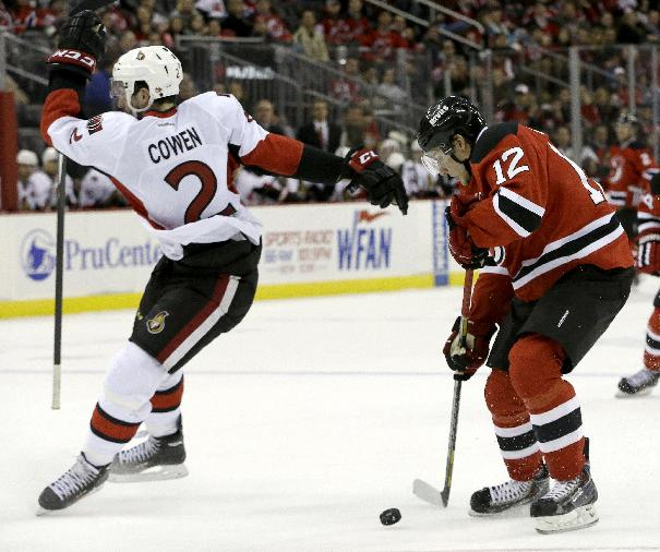 Jagr scores No. 693 in Devils' 5-2 win over Ottawa