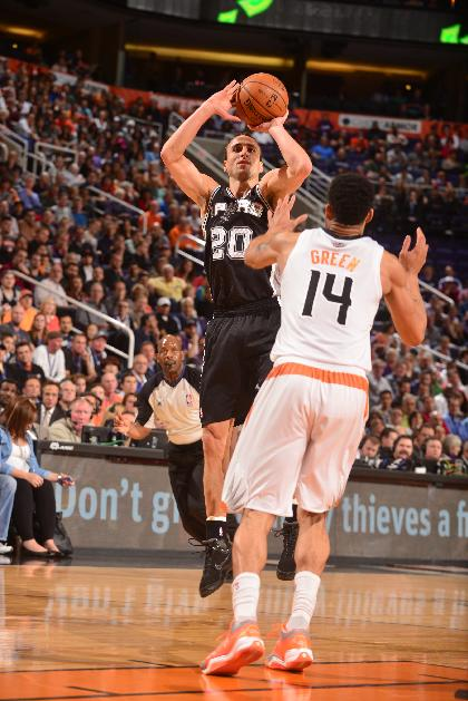 Ginobili, Spurs snap Suns' 5-game winning streak