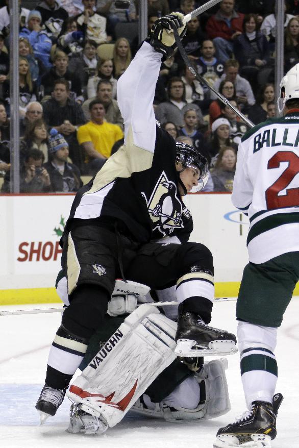 Kunitz, Crosby lead Penguins to 5-2 win over Wild