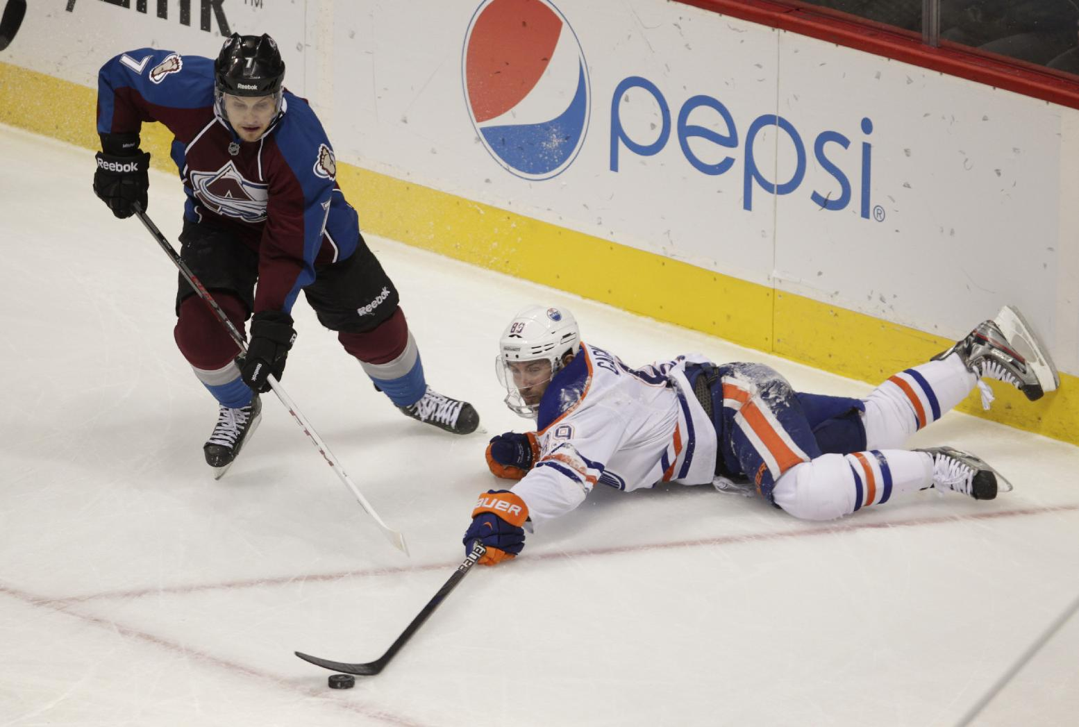 Talbot's SH goal lifts Avalanche over Oilers 4-2