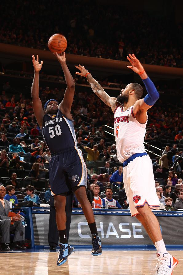 Randolph, Grizzlies beat Knicks 95-87, end skid