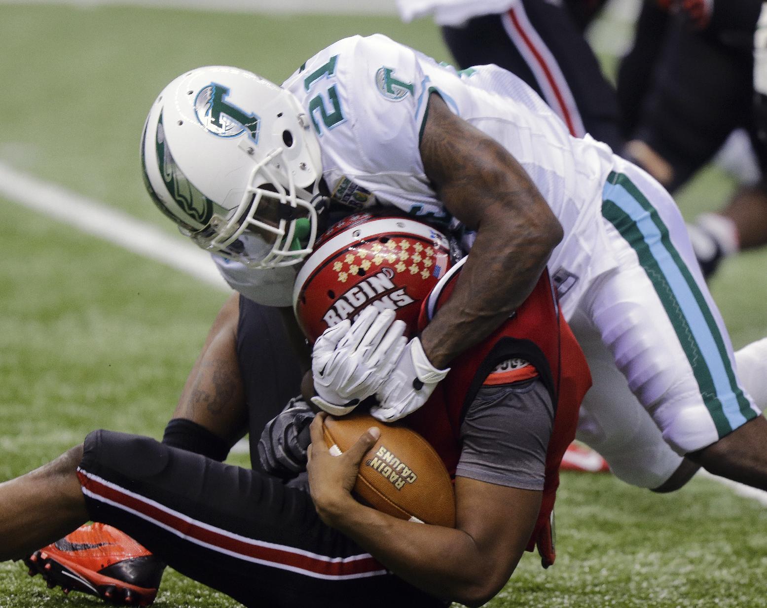 Louisiana-Lafayette downs Tulane 24-21 in NO Bowl