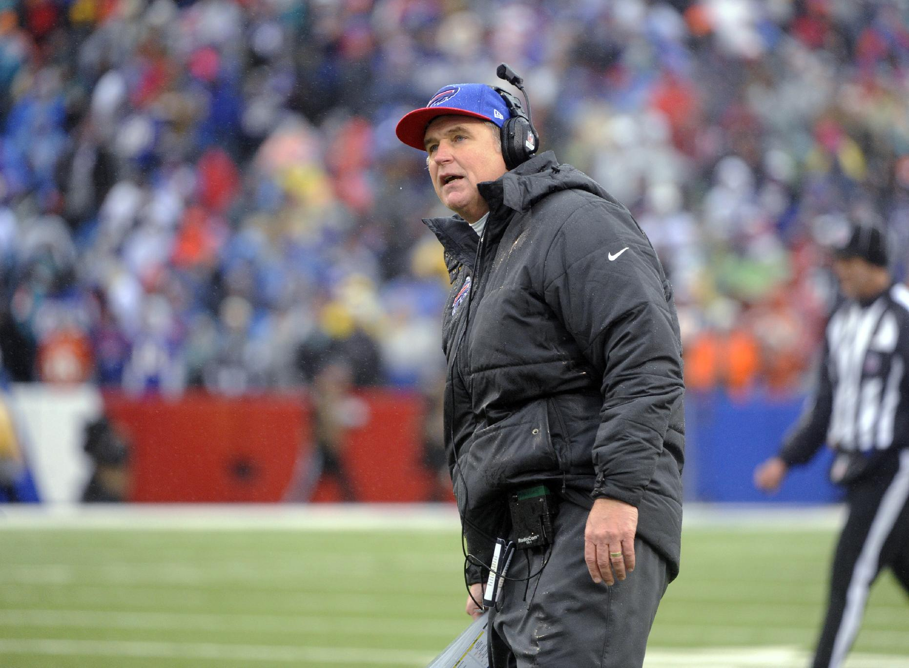 Bills' Marrone backs off on QB Manuel's status