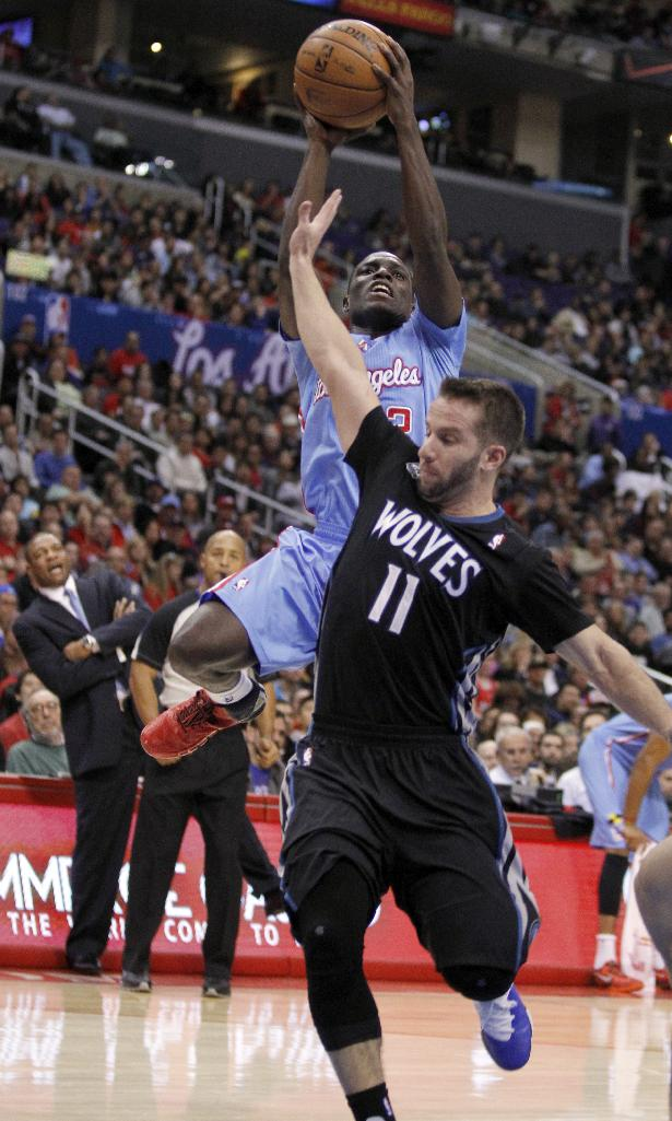 Clippers beat Wolves 120-116 in OT