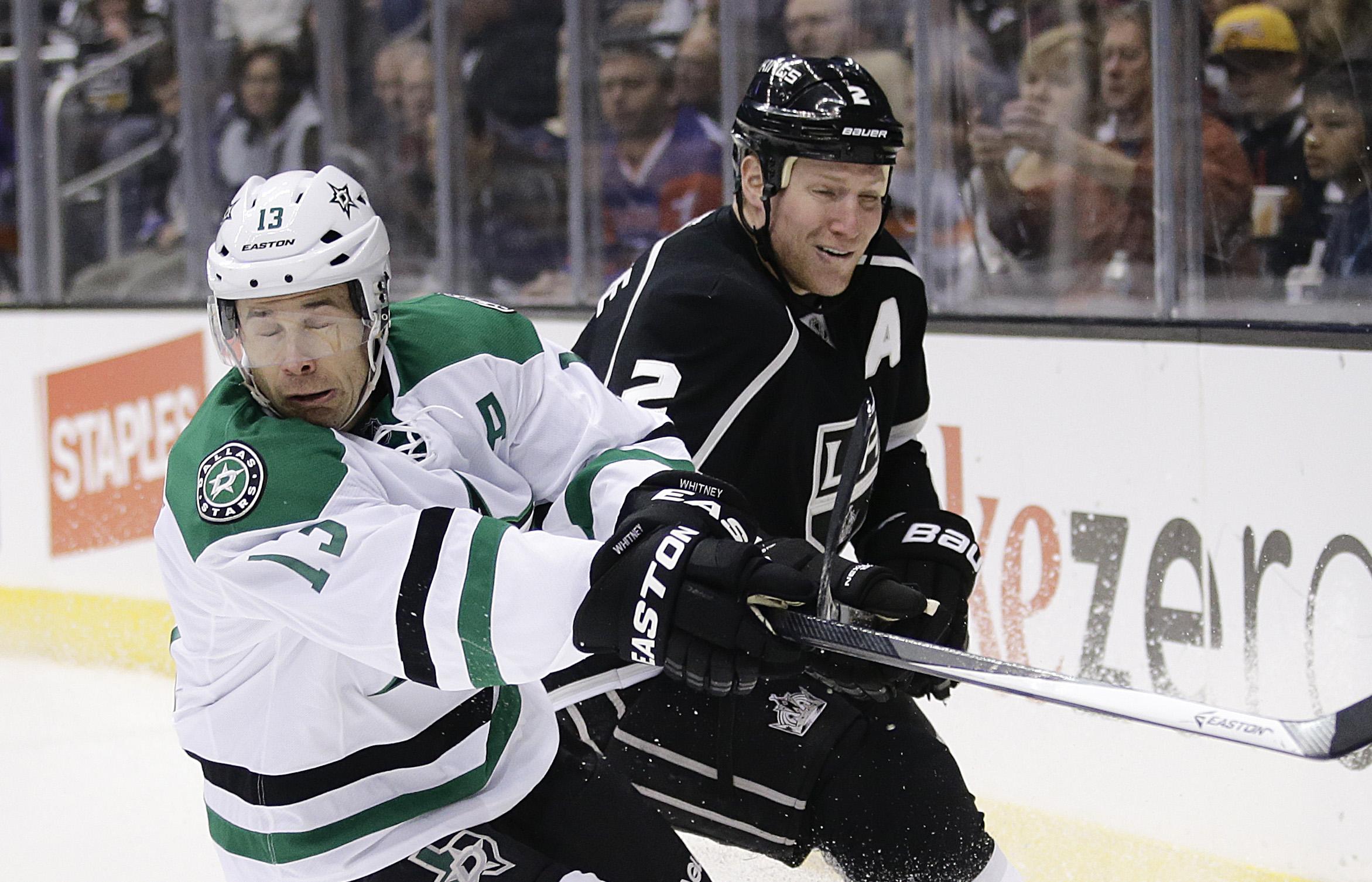 Stars hand Kings' Jones 1st NHL loss after 8 wins