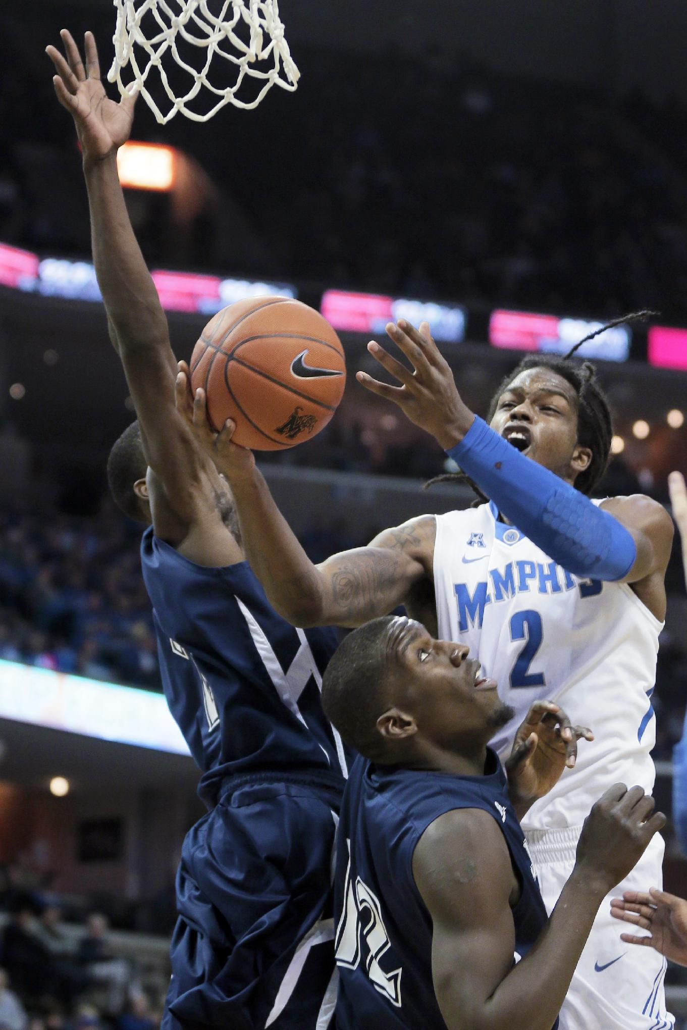 Dixon leads No. 17 Memphis over Jackson State