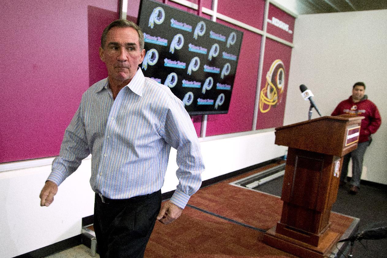End of term: Redskins fire coach Mike Shanahan