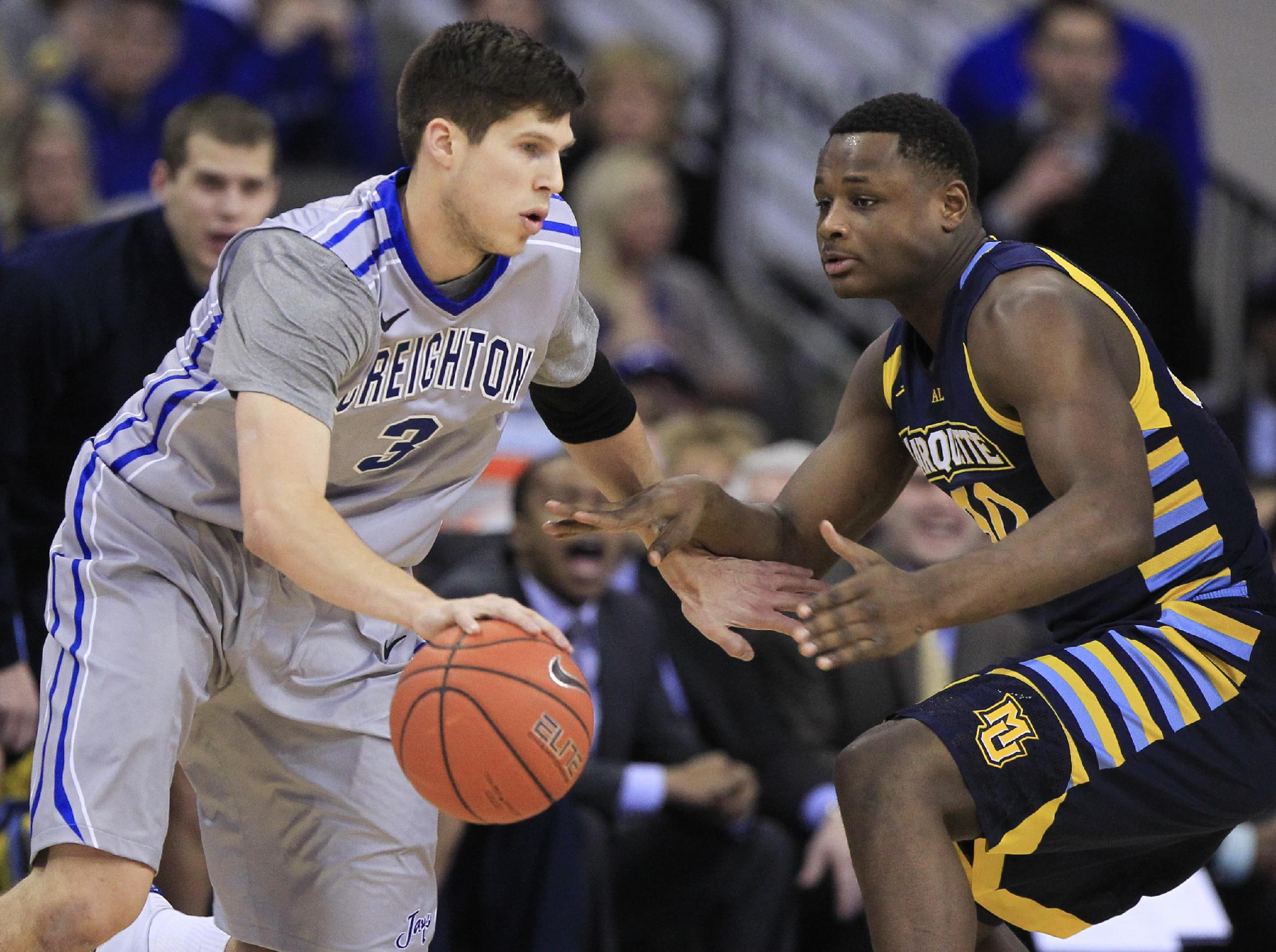 Creighton wins 67-49 in inaugural Big East game