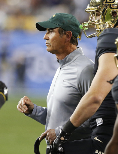 Baylor coach Briles says 'no desire' for other job