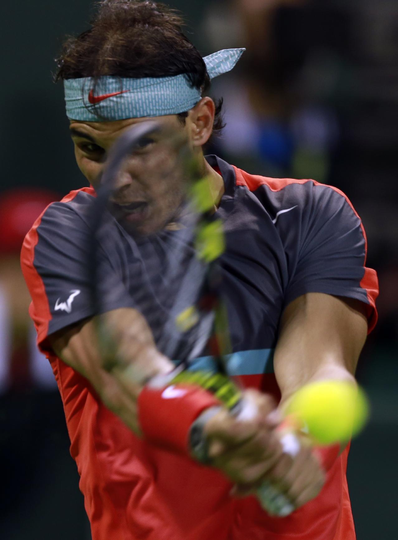 Nadal reaches Doha semis against qualifier