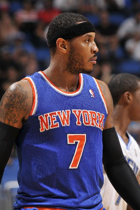 Anthony playing for Knicks after missing 3 games
