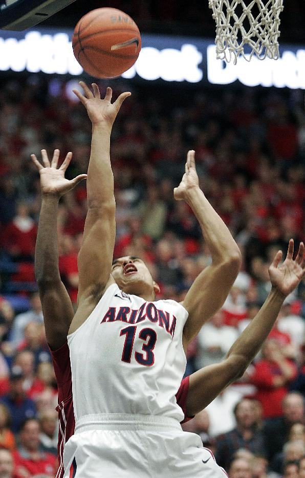 McKale mark shattered in No. 1 Arizona's 60-25 win