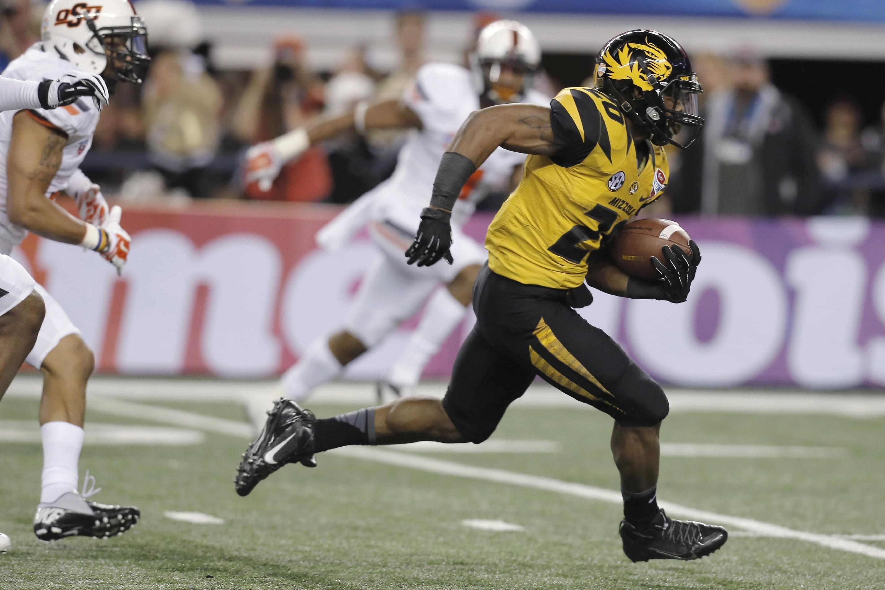 No. 9 Mizzou beats No. 13 OSU 41-31 in Cotton Bowl