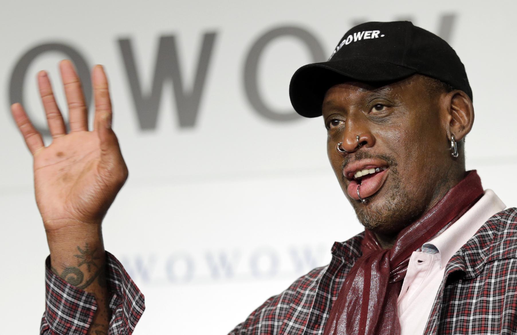APNewsbreak: Rodman names team for exhibition