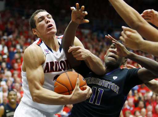 Arizona No. 1 in AP poll for 5th straight week